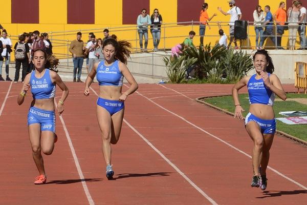 Las corredoras del CEA Tenerife no faltaron a la cita. / S.M.