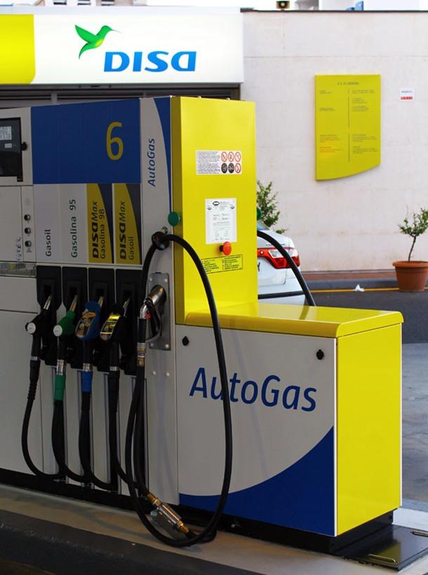 Disa gasolinera Autogas