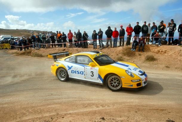 Enrique Cruz Rallye de Lanzarote