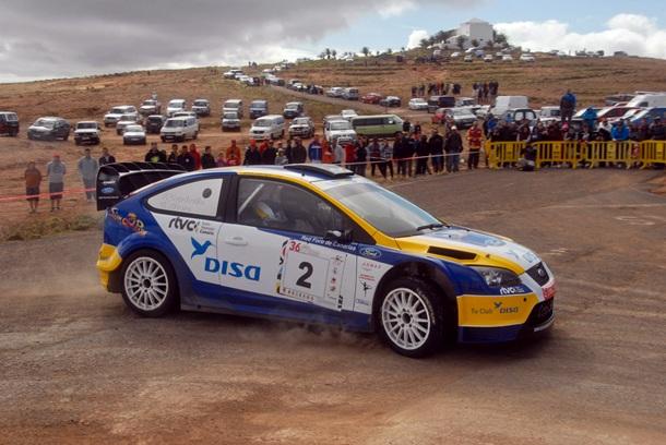 Fernando Capdevila Rally de Lanzarote
