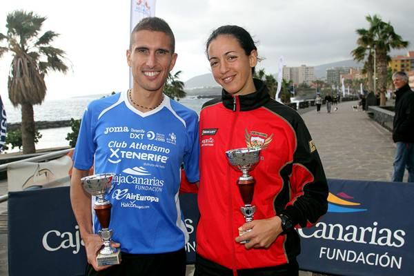 Jonay y Dácil, con los trofeos de los ganadores | DA