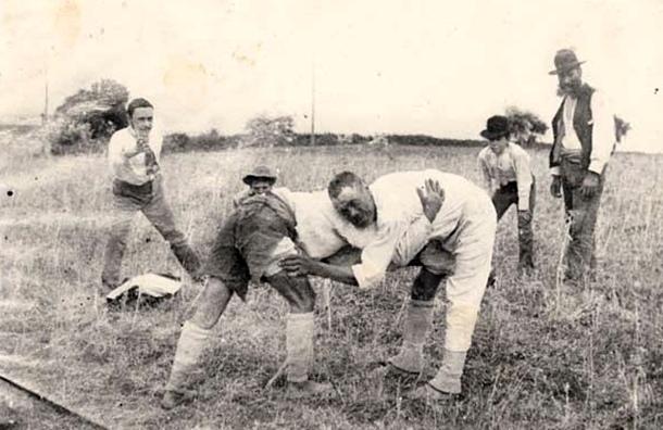 lucha canaria antigua 1900 1905