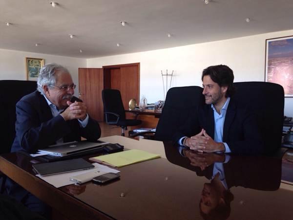 Gustavo Matos y Tariq Kabbage, el alcalde de Agadir. | DA