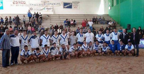 Memorial Tini Santana Lucha Canaria juvenil Tegueste Ravelo