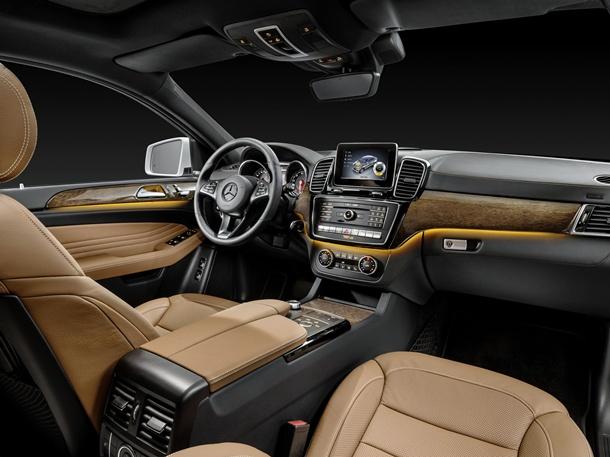 Mercedes Benz GLE Coupé interior