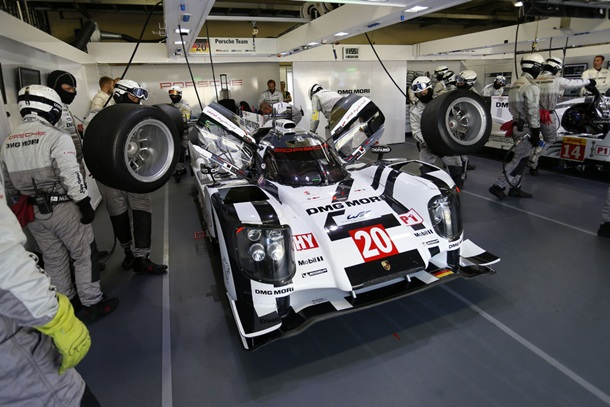 Porsche 919 Hybrid ganador en Sao Paulo.   DA