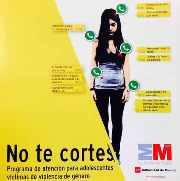Programa de atención para dolescentes víctimas de violencia de género.   DA