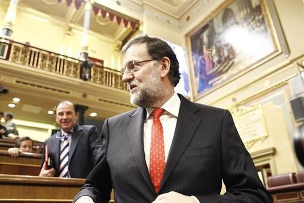 Rajoy en el Congreso. | EP