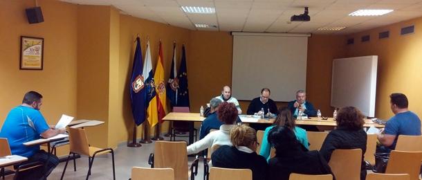 Reunión Lucha Canaria base Fundacion Cajacanarias 1