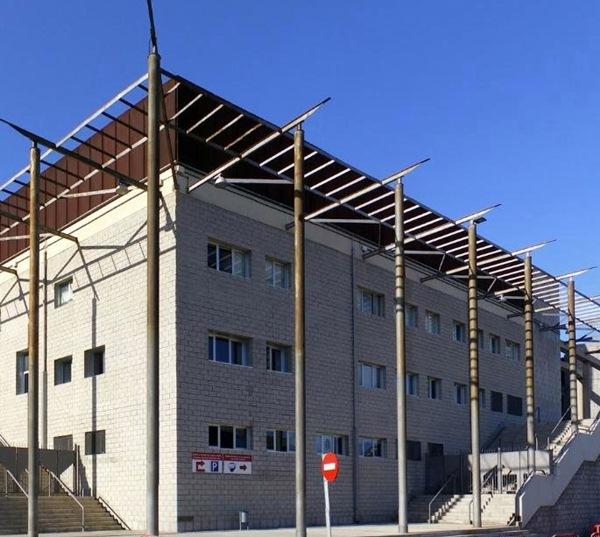 El Pabellón Santiago Martín, nueva sede de la Federación tinerfeña. / DA