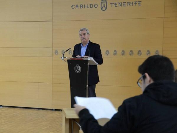 Aurelio Abreu, ayer durante la rueda de prensa. / DA