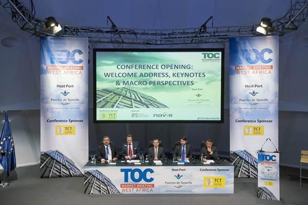 Imagen de la inauguración del foro internacional de logística y transporte. | DA