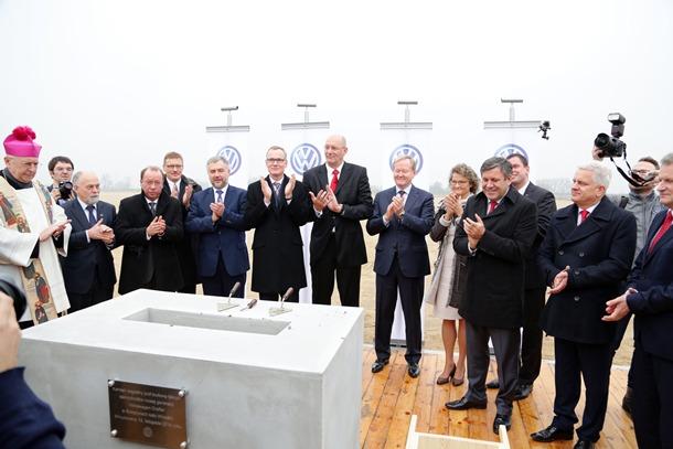 Volkswagen Comerciales planta polonia