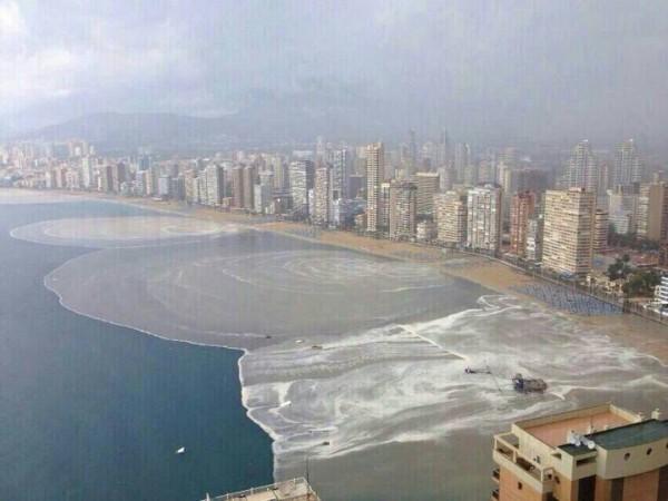 Consecuencias del temporal. / Fuente: Diario Información