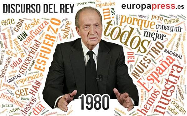 discurso rey 1980