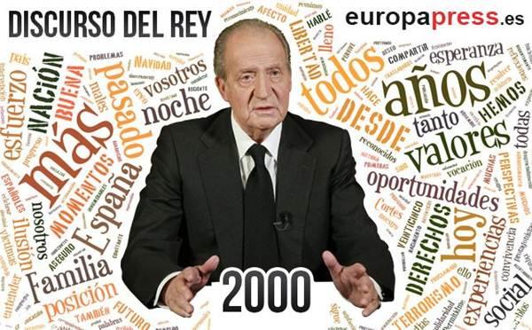 discurso rey 2000