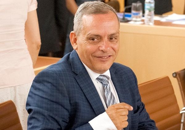 Efraín Medina, vicepresidente de Economía del Cabildo de Tenerife. / DA