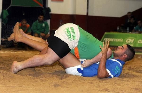 luchada guamasa Tegueste