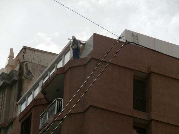 Las inspecciones buscan que los edificios tengan un correcto mantenimiento que evite accidentes.   DA