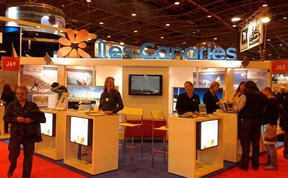 Canarias promociona su oferta turística en el Salón Náutico de París