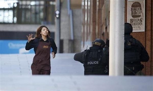 Rehén del secuestro en una cafetería de Sídney. / REUTERS