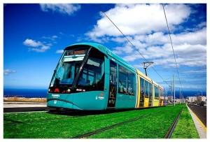 El tranvía de Tenerife ha batido récord de pasajeros este año. | EP