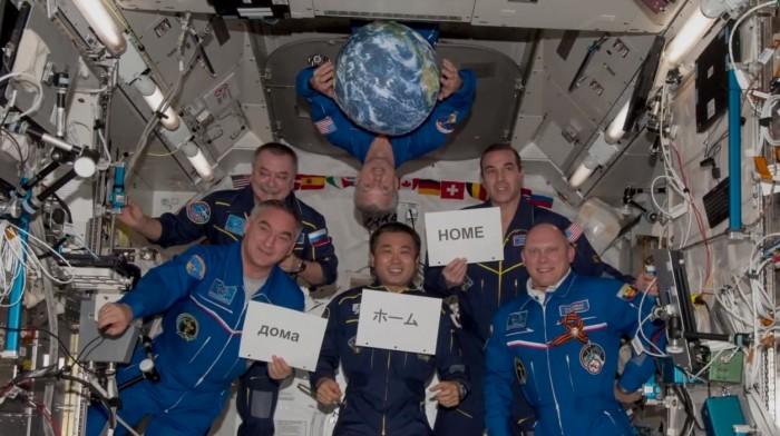 Astronautas de la NASA. / NASA