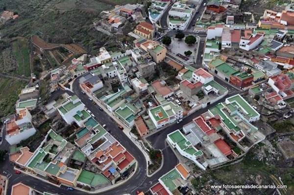 Vista aérea del barrio arafero de El Carmen. / DA