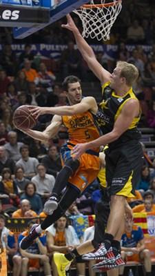 Pau Ribas fue unos de los mejores jugadores del Valencia BC. / ACB MEDIA