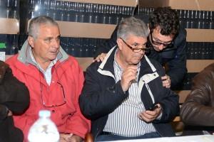 El nuevo presidente, Juan González (derecha), junto al consejero insular de Agricultura, Jesús Morales. / S. M.