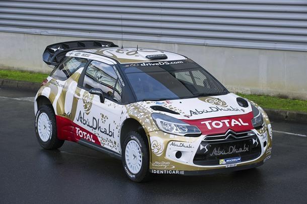 CITROËN DS3 WRC - MUNDIAL DE RALLYS 2015
