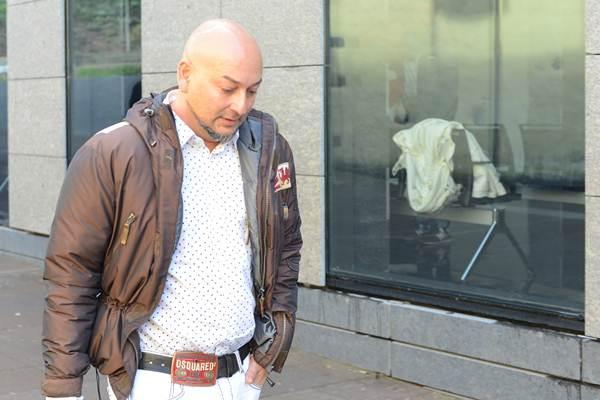 Carlos Calderón, el propietario del pub Sketch, tras declarar como denunciante del caso. | SERGIO MÉNDEZ