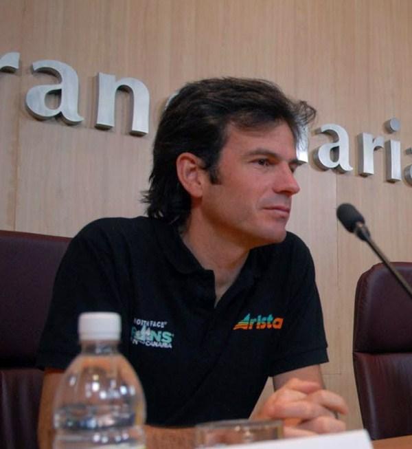 Fernando González director deportivo de la The North Face Transgrancanaria