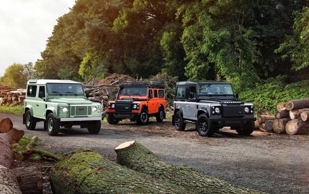 las 3 ediciones limitadas del Land Rover Defender