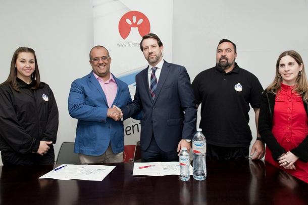 Fuentealta Patrocinador arbitros lucha tenerife