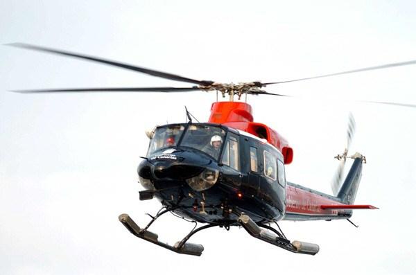 En ambos casos intervino un helicóptero del Grupo de Emergencias y Seguridad. / DA