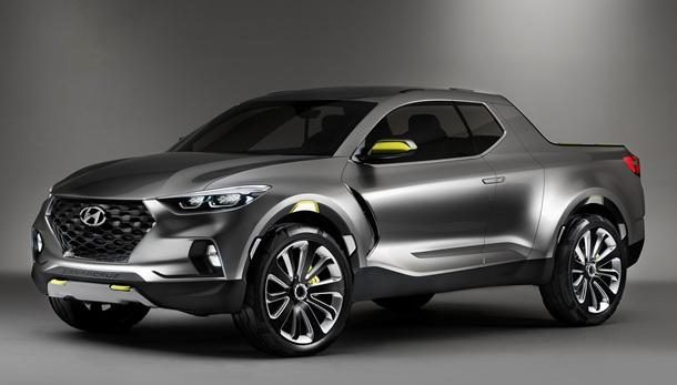El prototipo Hyundai Santa Cruz une lo mejor de los Crossover y las pickup. | DA