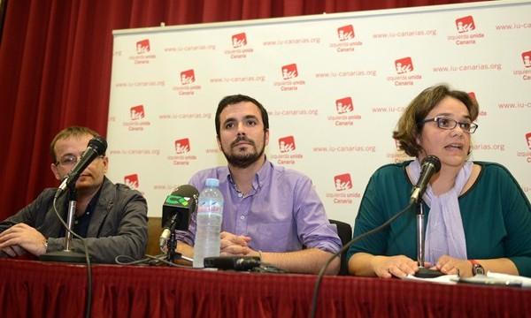 """Garzón exhibe el """"potencial"""" de IU para liderar el cambio"""