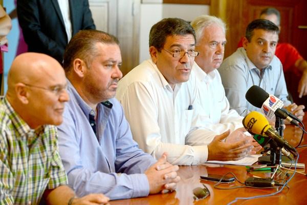 José Gumersindo García, el 27 de octubre, el día que anunció su renuncia. / S.M.