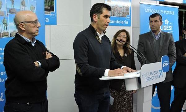 Juan Miguel Olivera no teme una desbandada en el PP