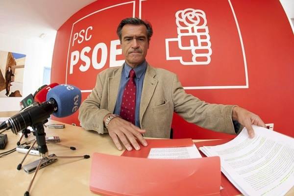 López Aguilar, en una foto de archivo, durante una rueda de prensa. | DA