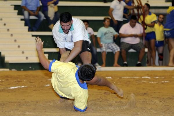 Una imagen de archivo del Benchomo en un enfrentamiento ante el Chimbesque. / DONELIA PÉREZ