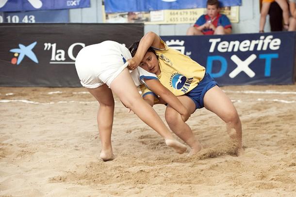 Juegos Cabildo de Tenerife Lucha Canarias