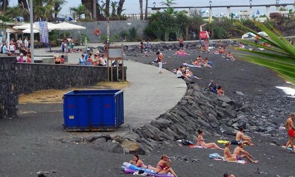 Destinan 5 millones para recargar de arena la playa de Martiánez