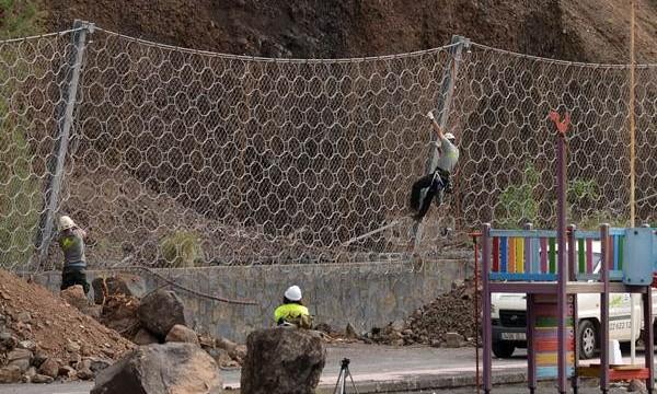 Las obras de la playa de La Arena se terminarán a finales de febrero