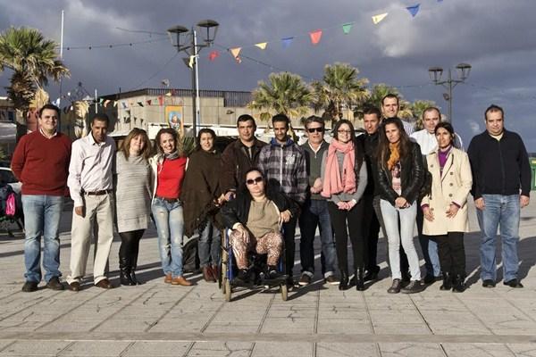 Integrantes del equipo Contigo Somos Podemos. / DA