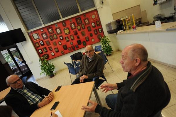 Juan González Barroso, Leandro Marrero y Ángel Cruz Casañas. / FRAN PALLERO