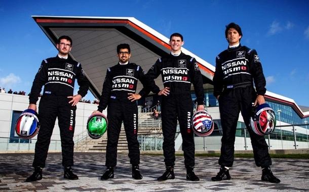 Paletou, Bin-Khanen, Hammann y Sánchez Nissan Nismo GT Academy