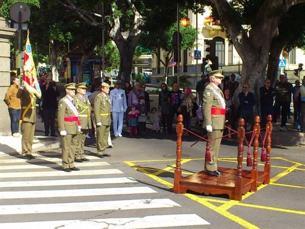 Acto de la Pascua Militar en Santa Cruz de Tenerife. | EP