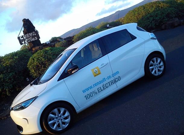 Renault Zoe Reto 7 Islas unidas por una sola energía